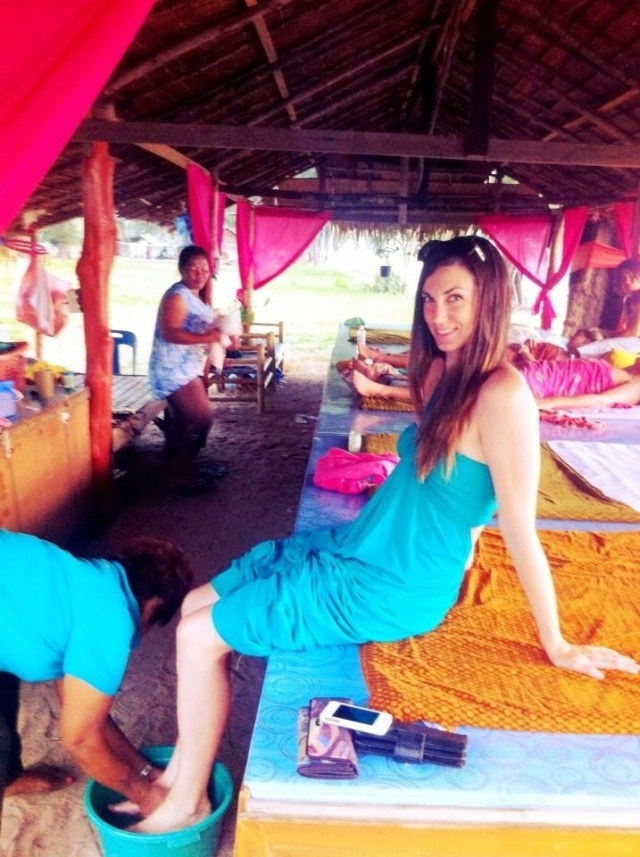 Koh Lanta Beach Massage!