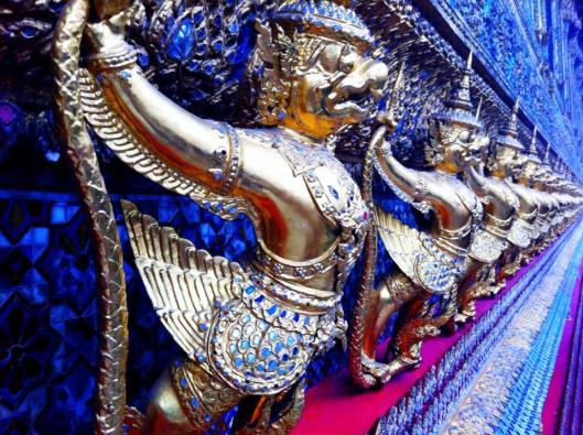 Warriors at Grand Palace Thailand