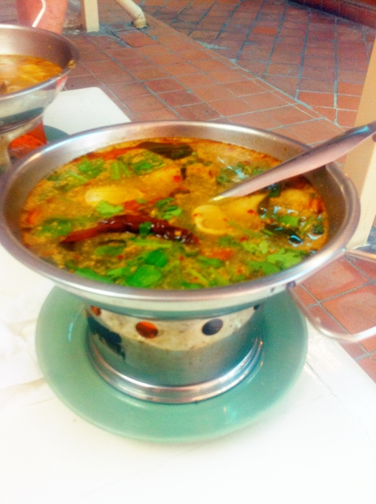 Tom Yum Soup in Bangkok