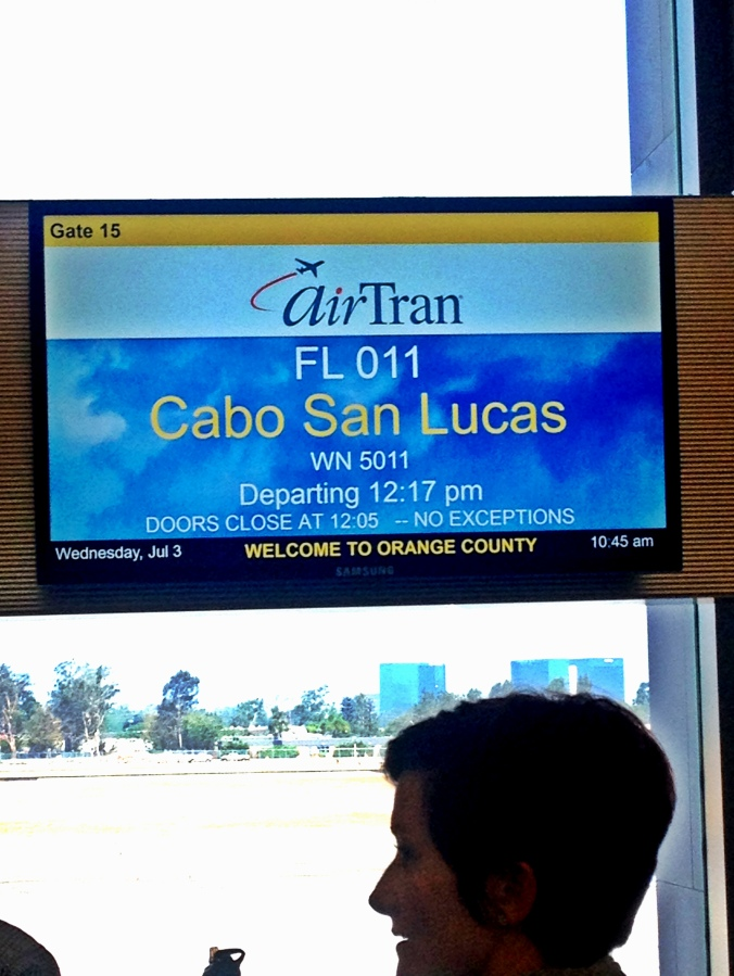 Flight to Cabo!