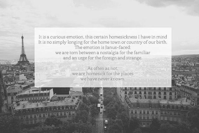 homesick