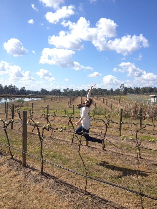 Frolicking Through the Vines